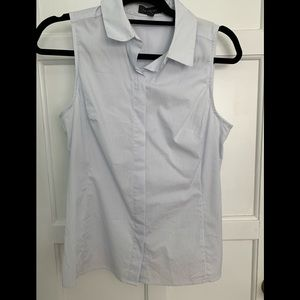 The Limited Button Down Sleeveless Shirt